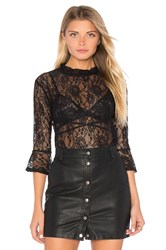 Lucca Couture Reese Top Black