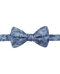 Ryan Seacrest Distinction Men's Lakewood Floral Pre Tied Bow Tie Only At Macy's Medium Blue
