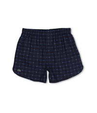 Lacoste Authentics Woven Boxer Croc Boxer Navy Men's Underwear