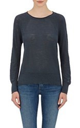 Skin Women's Cotton Slub Knit Sweater Navy