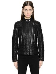 Belstaff And Liv Tyler Quilted Nappa Leather Jacket