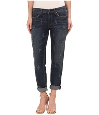 Level 99 Sienna Tomboy W Embroidery In Derby Derby Women's Jeans Black