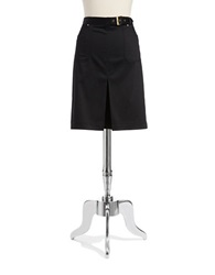 Jones New York Belted Skirt Black