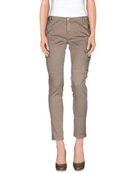 Fifty Four Trousers Casual Trousers Women Khaki