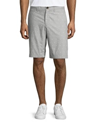 Penguin Cotton Sailor Print Chino Shorts Griffin