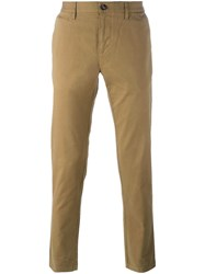 Burberry Slim Fit Chinos Nude Neutrals