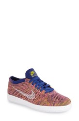Nike Women's 'Tennis Classic Ultra' Flyknit Sneaker Royal Grey Pink