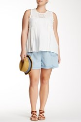 Rdi Zip Pocket Short Plus Size Blue