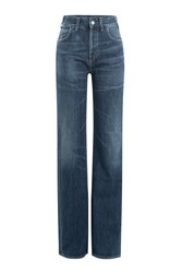 Citizens Of Humanity Wide Leg Jeans Blue