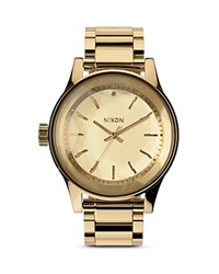 Nixon The Facet Watch 42Mm All Gold