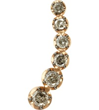 Annoushka Dusty Diamonds 18Ct Rose Gold And Diamond Left Ear Pin