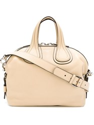 Givenchy Small 'Nightingale' Tote Nude And Neutrals