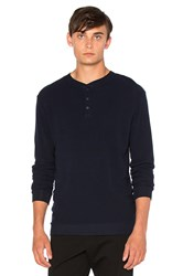 Cotton Citizen The Morrison Thermal Navy