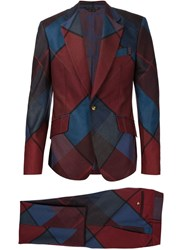 Vivienne Westwood Man 'James' Suit Red