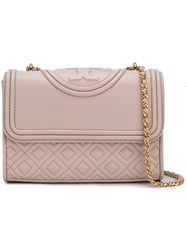 Tory Burch 'Fleming' Crossbody Bag Pink And Purple