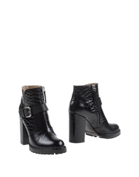 Vicini Tapeet Ankle Boots Black