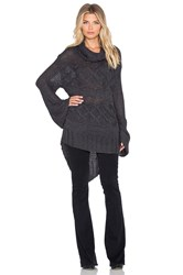 Somedays Lovin Dusty Cable Knit Sweater Charcoal