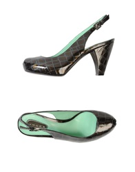 Lerre Slingbacks Dark Green