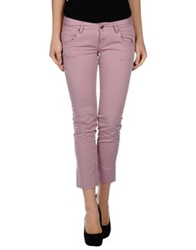Two Women In The World 3 4 Length Shorts Pastel Pink