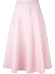 Marni Panelled Midi Skirt Pink And Purple