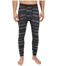 Burton Midweight Pant Faded Stag Stripe Men's Casual Pants Black