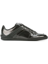 Christian Dior Homme Stripe Detail Sneakers Black