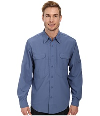 Royal Robbins Expedition Stretch L S Ink Men's Long Sleeve Button Up Navy