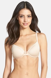 Wacoal 'Halo Lace Comfort Back' Underwire Spacer T Shirt Bra Naturally Nude