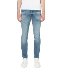 7 For All Mankind Ronnie Skinny Tapered Jeans Remaster Light Blue