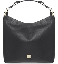 Mulberry Freya Leather Hobo Bag Black