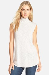 Women's Nic Zoe Everyday Turtleneck Top Silver Cloud Mix