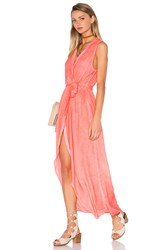 Yfb Clothing Pier Maxi Dress Coral