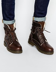 Wrangler Aviator Boots Brown