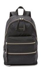 Marc Jacobs Nylon Biker Backpack Black