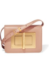 Tom Ford Natalia Mini Leather Shoulder Bag Baby Pink