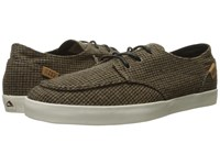 Reef Deck Hand 2 Tx Brown Tweed Men's Lace Up Casual Shoes