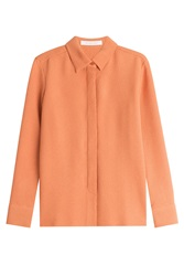 See By Chloe See By Chloe Textured Blouse Orange