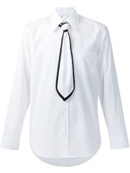 Marc Jacobs Tie Applique Shirt White
