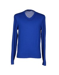 Faconnable Knitwear Jumpers Men Bright Blue