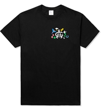 Acapulco Gold Black Flared Out S S T Shirt