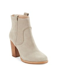 French Connection Avabba Suede Ankle Boots Tan