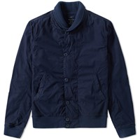 Save Khaki Fleece Lined Bomber Jacket Blue