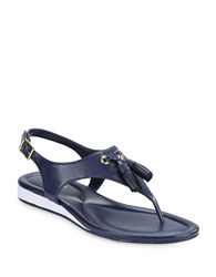 Cole Haan Rona Grand Eva Cushioned Thong Sandals Marine Blue