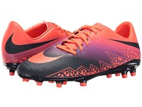 Nike Hypervenom Phelon Ii Fg Total Crimson Obsidian Vivid Purple Bright Crimson Men's Soccer Shoes Multi
