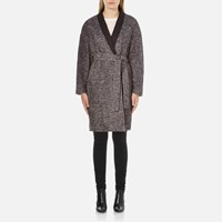 By Malene Birger Women's Calderia Coat Dark Jeans Grey