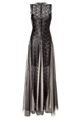 Marios Schwab Embroidered Gown