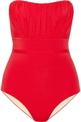 I.D. Sarrieri Deauville Gathered Bandeau Swimsuit