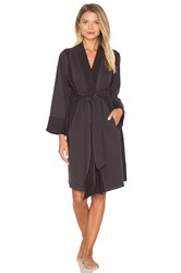 Skin Fleece Robe Charcoal