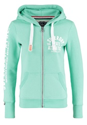 Superdry Trackandfield Tracksuit Top Hot Mint Marl