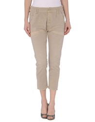 Cycle Trousers 3 4 Length Trousers Women Beige